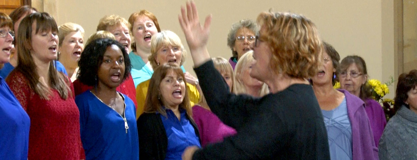 the voice community choir barnstaple